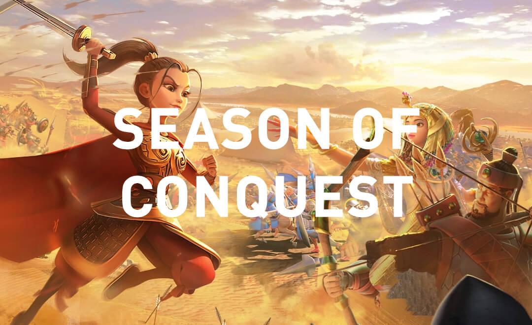Rise of Kingdoms Season of Conquest