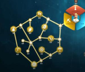 gathering talent tree