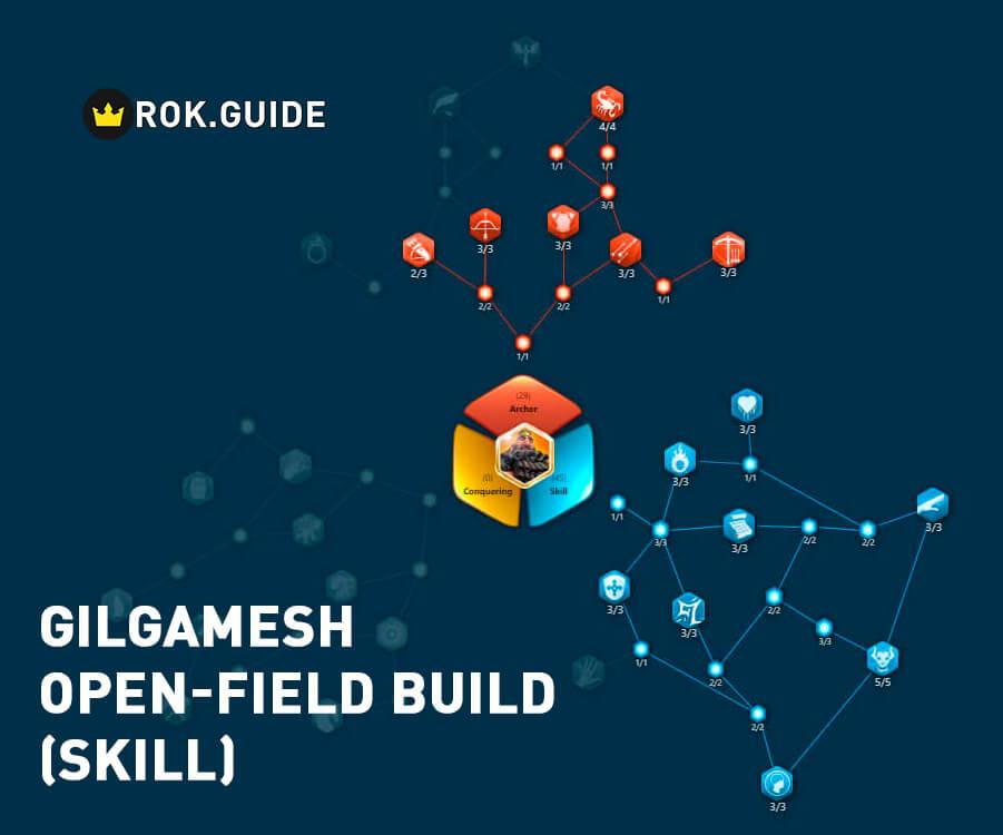 gilgamesh open-field skill build